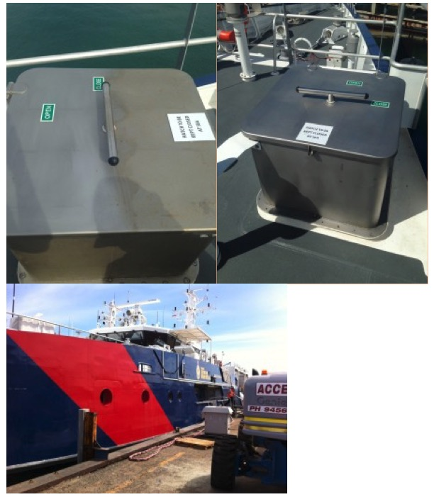 Stainless Steel Coating – Austal Ships. Australian Custom Boats