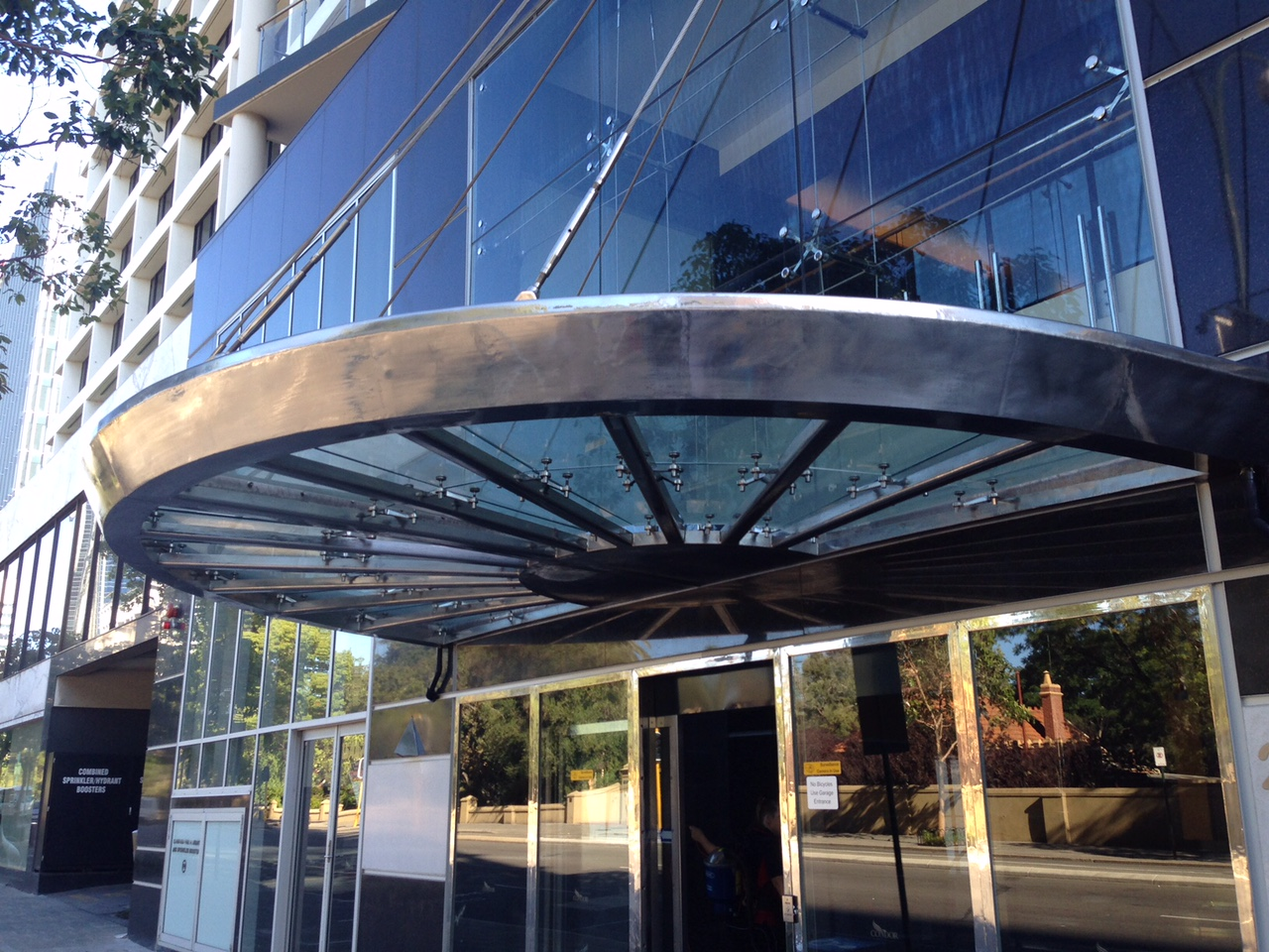 Stainless Steel Canopy – Restoration & Protection