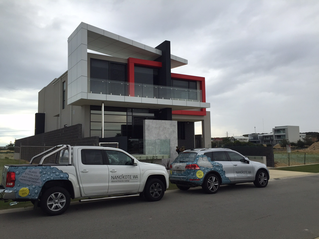 Exclusive Home in Port Coogee – Exterior Glass Protection