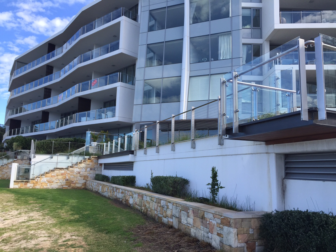 Rivershore Apartment Complex – Stainless Steel Restoration + Protection