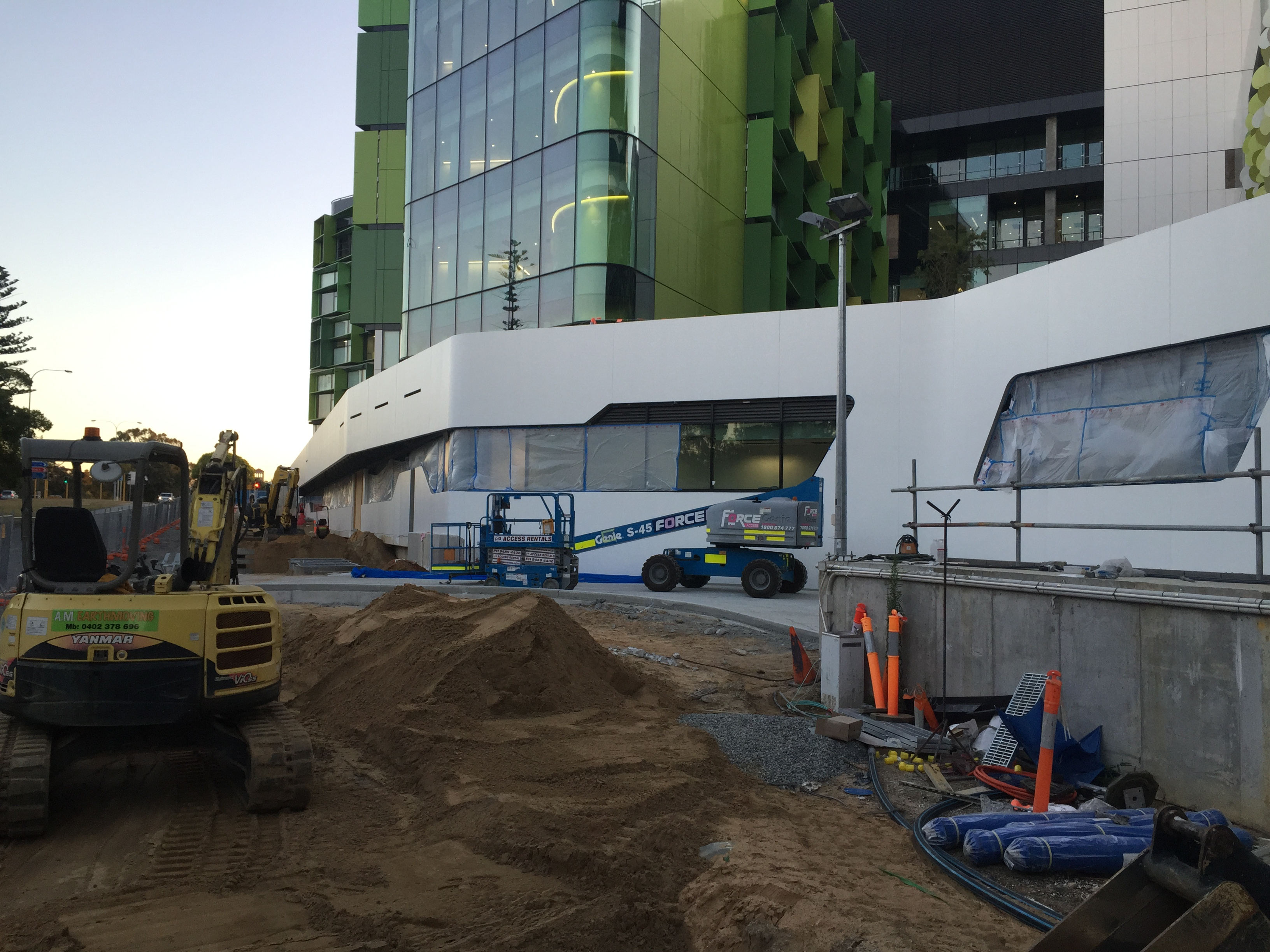 Perth's Childrens Hospital Project